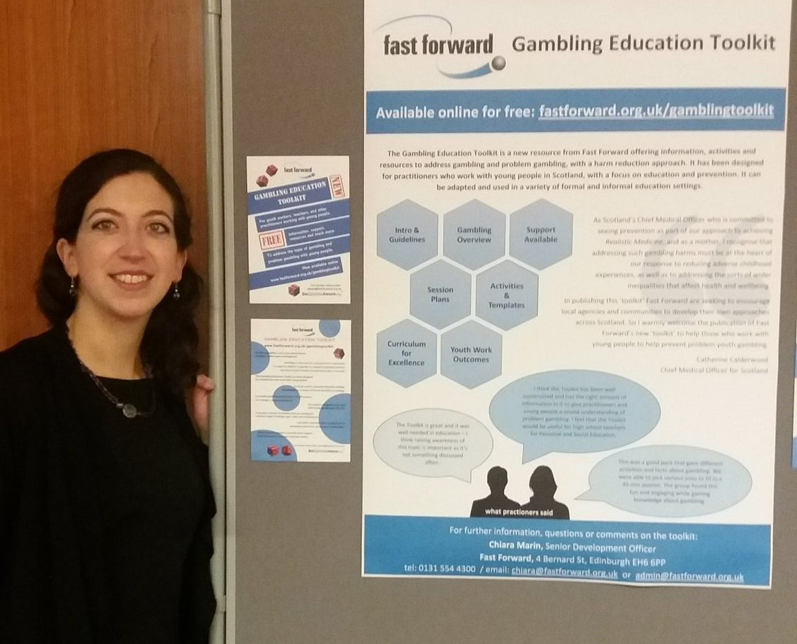 0164d8fa61b The Gambling Education Toolkit was presented with a poster at the 5th Harm  Minimisation Conference